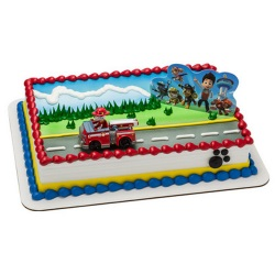 Paw Patrol Cake Set LARGE