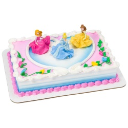 Disney Princess Once Upon a Moment Cake Set LARGE