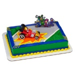 Mickey Mouse &  the Roadster Racers Cake Set THUMBNAIL