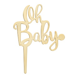 Oh Baby Candle Holder LARGE