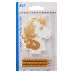 Golden Unicorn Candle LARGE