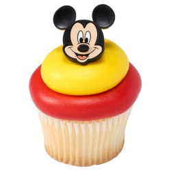 Mickey Mouse Cupcake Rings LARGE