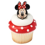 Minnie Mouse Cupcake Rings THUMBNAIL