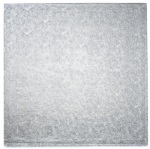 "White Foil Drum Board - 16"" Square THUMBNAIL"