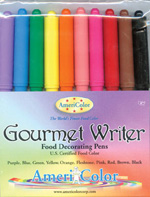AmeriColor Gourmet Writer Food Decorating Pens