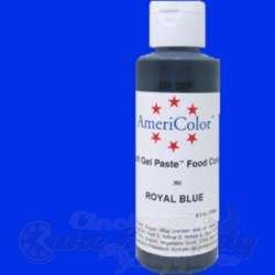 AmeriColor Gel Paste - Royal Blue - 4.5 oz.