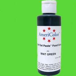 AmeriColor Gel Paste - Mint Green - 4.5 oz. LARGE