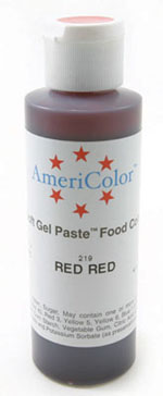 AmeriColor Gel Paste - Red Red - 4.5 oz.
