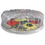 Dessert Tray with Lid