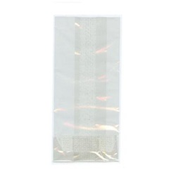 "Clear Bags - 4"" x 2.75"" x 9"" Cello LARGE"