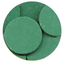 Merckens Rainbow Coating Wafers - Dark Green LARGE