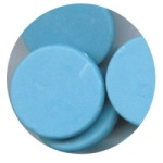 Merckens Rainbow Coating Wafers - Blue_THUMBNAIL
