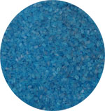 Sugar Crystals - Blue - 4 oz.