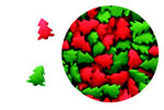 Confetti - Red & Green Trees -2.8 oz. THUMBNAIL