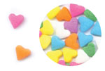 Confetti - Multi Color Hearts - 2.8 oz.