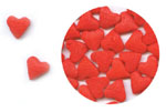 Confetti - Red Hearts - 2.8 oz. LARGE