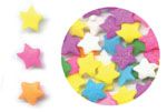 Confetti - Multi Color Stars - 2.6 oz.