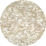 Edible Glitter - White - 4 oz.