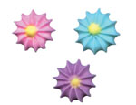 Royal Icing Star Flowers