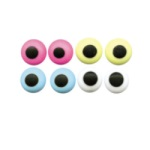 "Royal Icing Eyes - 3/16"" Assorted Colors"