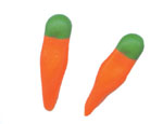 Royal Icing Carrots - 1/2""