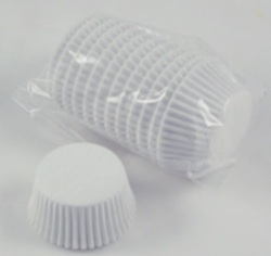Mini Baking Cups - White - 500 Ct. LARGE
