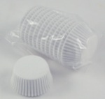 Mini Baking Cups - White - 500 Ct.
