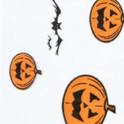 Clear Bags - 1/2 Pound Halloween LARGE