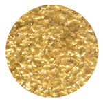 Edible Glitter - Metallic Gold LARGE