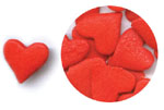 Confetti - Jumbo Red Hearts - 2.6 oz.