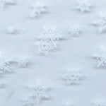 "Cello Bags - 3"" x 5"" Snowflake"