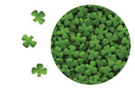 Confetti - Mini Shamrocks - 3.2 oz.
