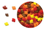 Confetti - Mini Autumn Leaves - 3.2 oz.