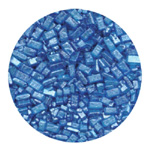 Sugar Crystals - Pearlized Blue - 4 oz.