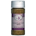 Sugar Crystals - Pearlized Gold - 4 oz.