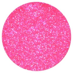Techno Glitter - Hot Pink LARGE