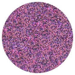 Techno Glitter - Plum LARGE