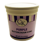 CK Buttercream Icing - Purple - 15 oz.
