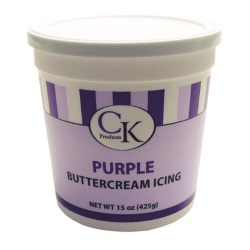 CK Buttercream Icing - Purple - 14 oz. LARGE