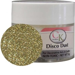Techno Glitter - Soft Gold LARGE