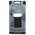 Edible Glitter - Black THUMBNAIL