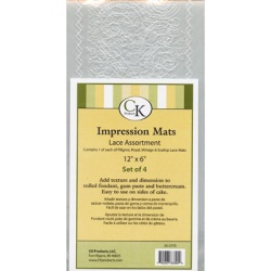 Impression Mat - Lace Assortment LARGE