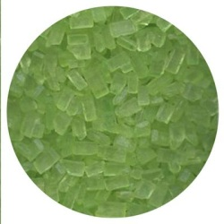 Sugar Crystals - Lime Green - 4 oz.