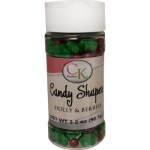 Candy Shapes - Holly & Berries