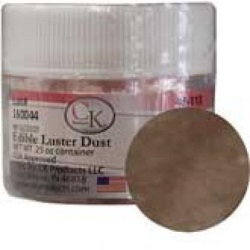 Edible Luster Dust - Leather Brown LARGE