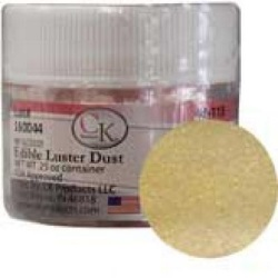 Edible Luster Dust - Satin Gold LARGE