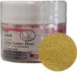 Edible Luster Dust - Shiny Gold LARGE