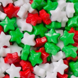 Candy Shapes - Christmas Stars LARGE