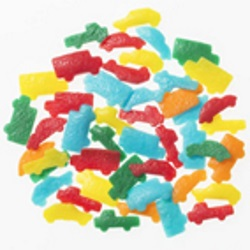 Confetti - Cars - 2 oz. LARGE