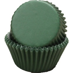 Standard Baking Cups - Solid - Dark Green LARGE